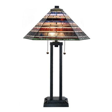 Tiffany Tafellamp Industrial Large