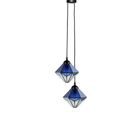 Tiffany Kroonluchter Akira Blue 2