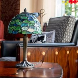 Tiffany Tafellamp Hortensia