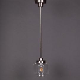 Hanglamp Getrapte Cilinder small Transparant