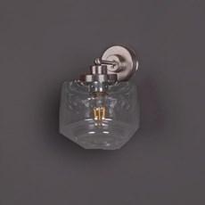 Wandlamp Getrapte Cilinder small Transparant