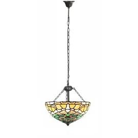 Hanglamp Tiffany Campanula met 3 kettingen