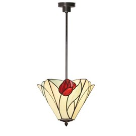 Tiffany Strakke Hanglamp Tulip