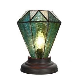 Laag Tiffany Tafellampje Arata Green